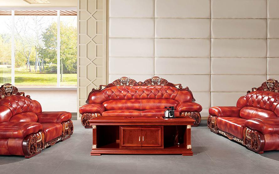 伟通 公司企业办公室沙发定制案例