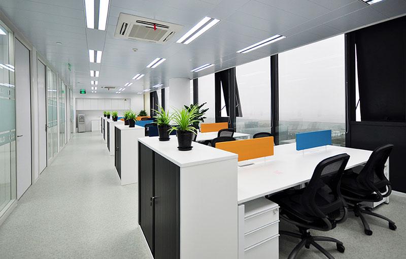 mg娱乐线路检测办公家具定制案例:软通动力
