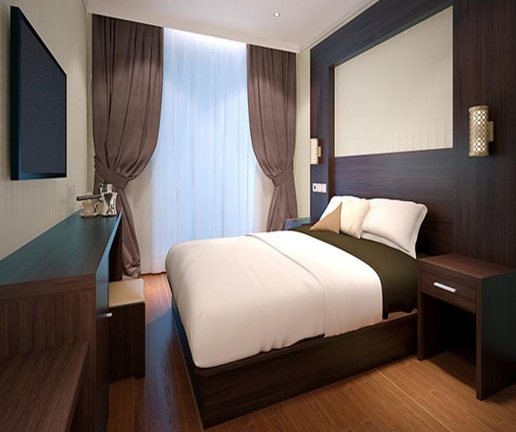 酒店快捷宾馆板式床