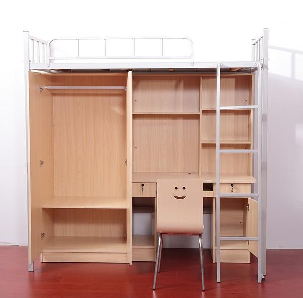 大学生宿舍床组合带衣柜书桌