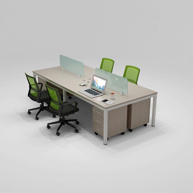 特价最简易4人位办公桌